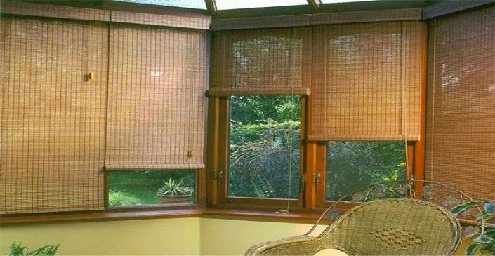 mành trúc trang trí treo cửa sổ