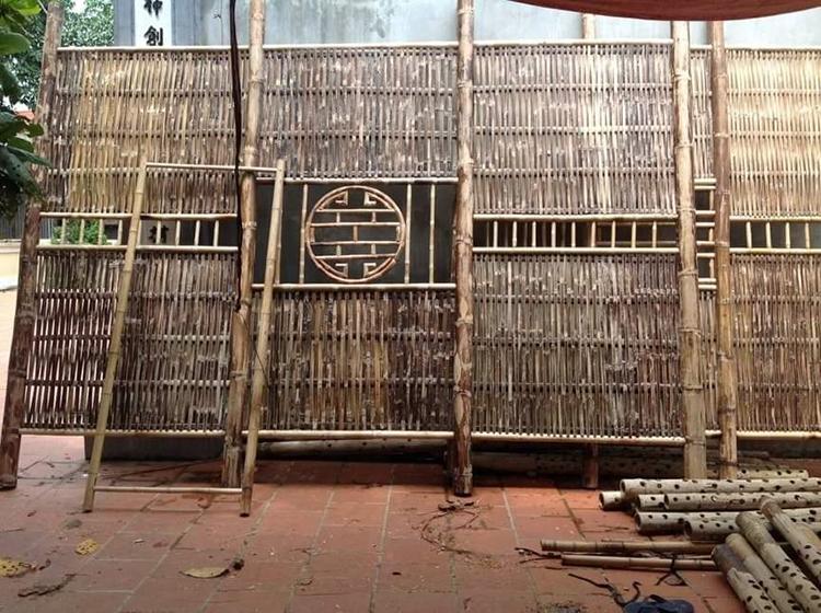 Công đoạn sản xuất dại tre nhà cổ