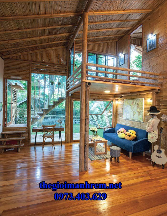 nhà bằng tre trúc