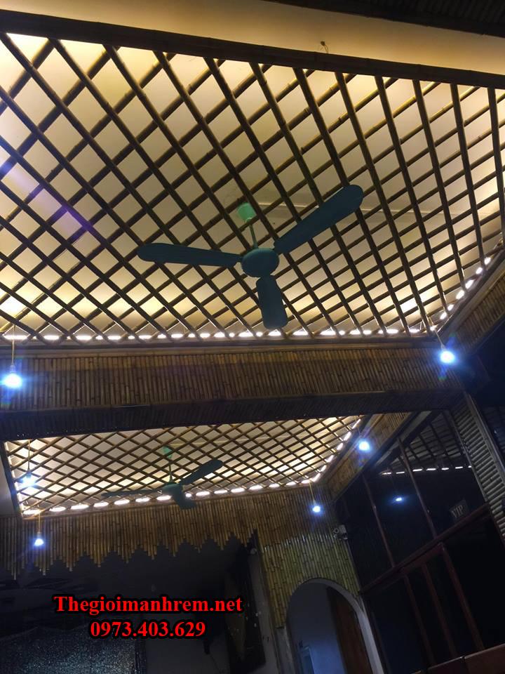 Quán cà phê bằng tre trúc Hà Tĩnh