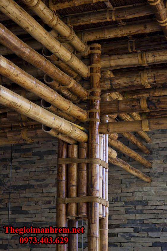 Trang trí nhà cửa bằng tre trúc