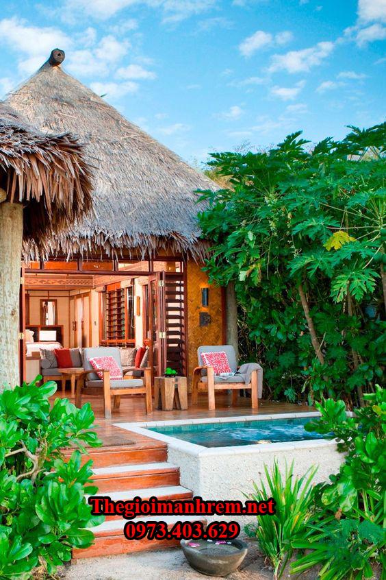 Nhà chòi nghỉ dưỡng đẹp ở Quy Nhơn