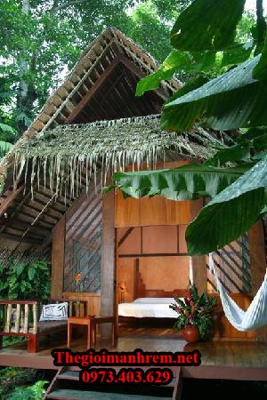 Trang trí nhà bằng tre trúc Lạng Sơn