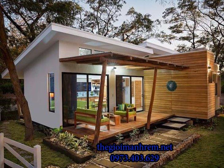 Ý tưởng cho nhà đẹp giữa thiên nhiên