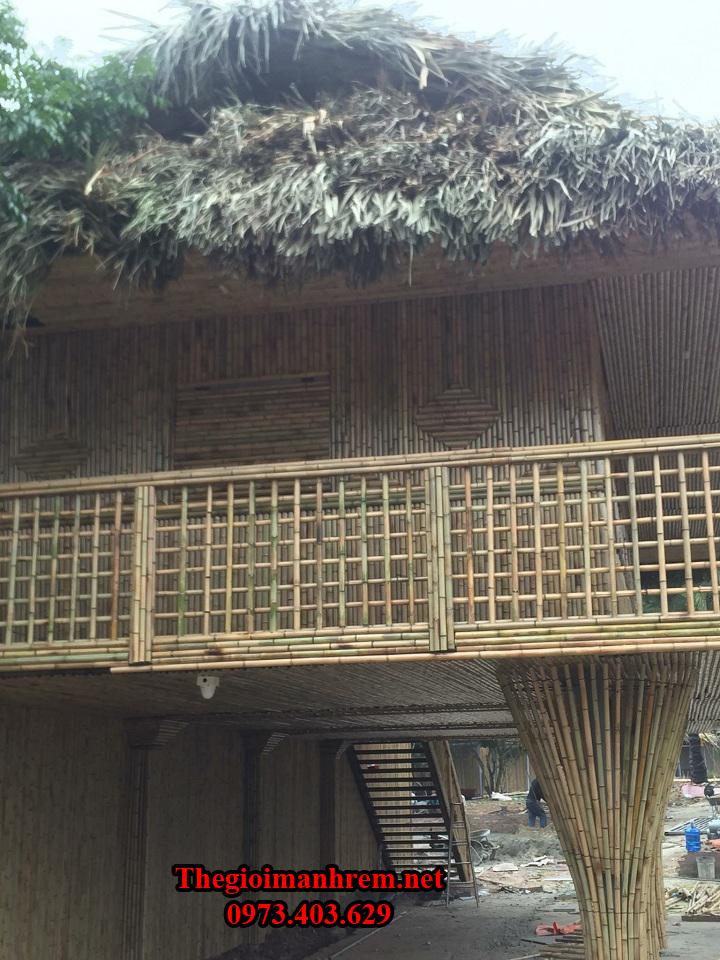 Làm trần tre trúc Biên Hòa