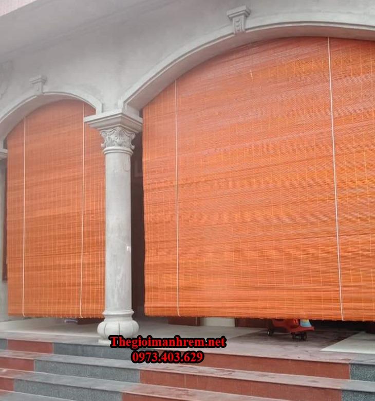 màn treo cửa bằng tre trúc