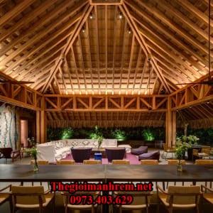 Nhà chòi tre trúc Hải Phòng