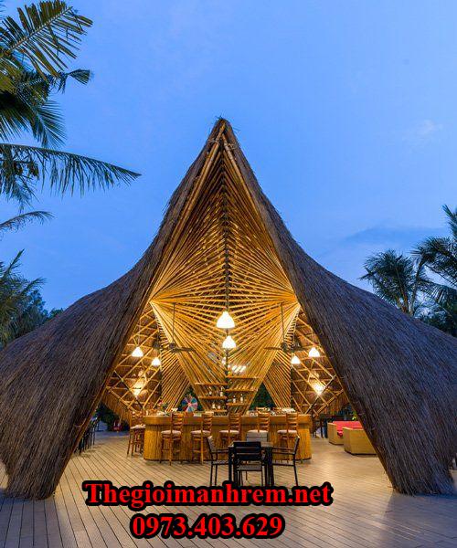 Nhà mái lá đẹp Vĩnh Long