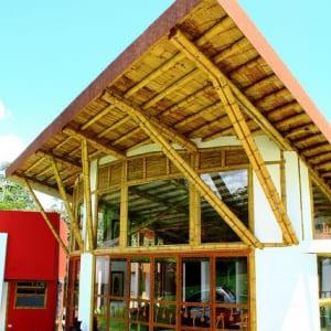 Thi công nhà hàng tre trúc Nam Định