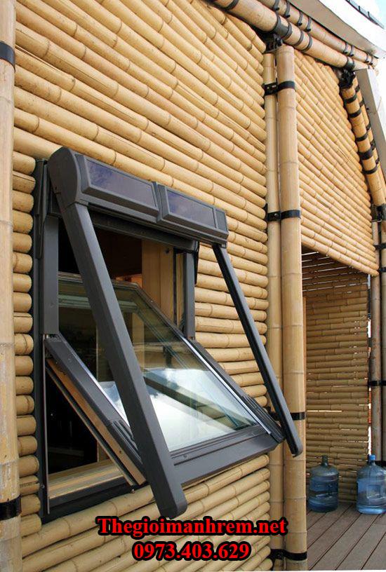 Thiết kế nhà tre mái lá Ngọc Dương