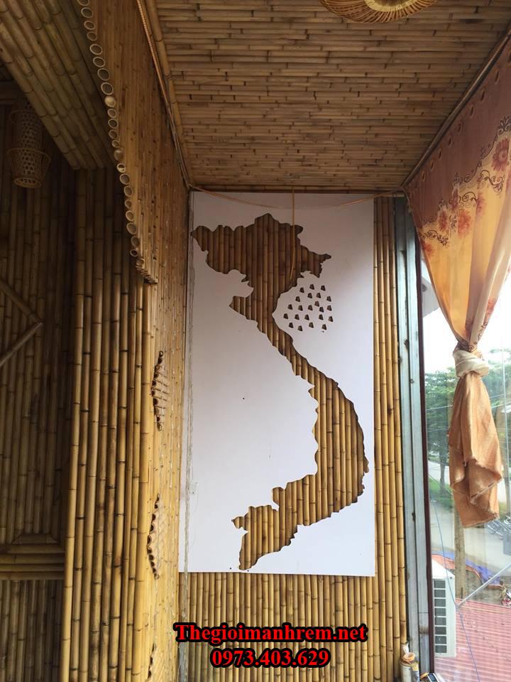 Trang trí nhà tre trúc Hoàn Kiếm