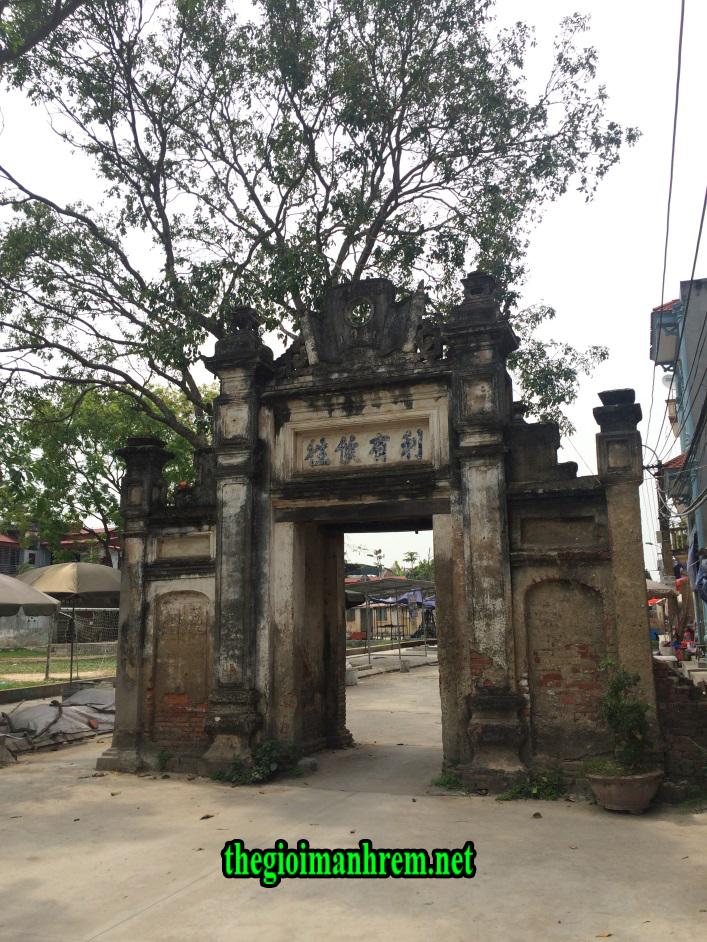 Cổng Làng Diềm - Tỉnh Bắc Ninh