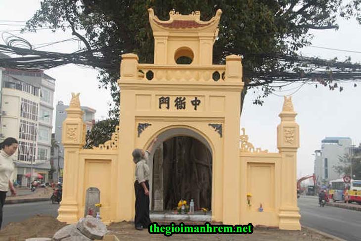Cổng làng Nghè - Trung Nha Môn