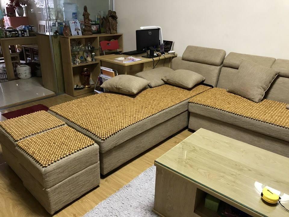 Đệm ghế sofa hạt gỗ