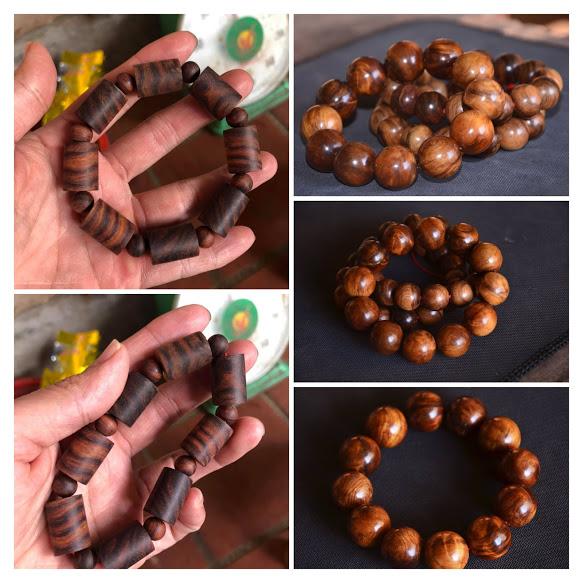 Vòng hạt gỗ đeo tay