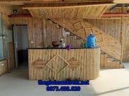 Ốp tre trúc nội thất